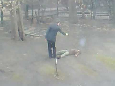 Убийство в центре Москвы