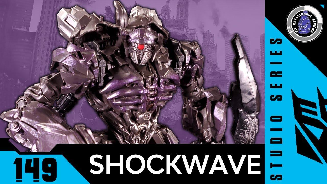 Transformers: Studio Series SHOCKWAVE by Kit Reviews