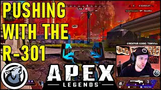 PUSHING WITH THE R_301! VISS w/ TannerSlays, APEX LEGENDS SEASON 4