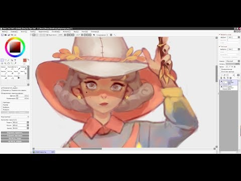 Speedpaint (Paint Tool SAI) Adoptable Witch