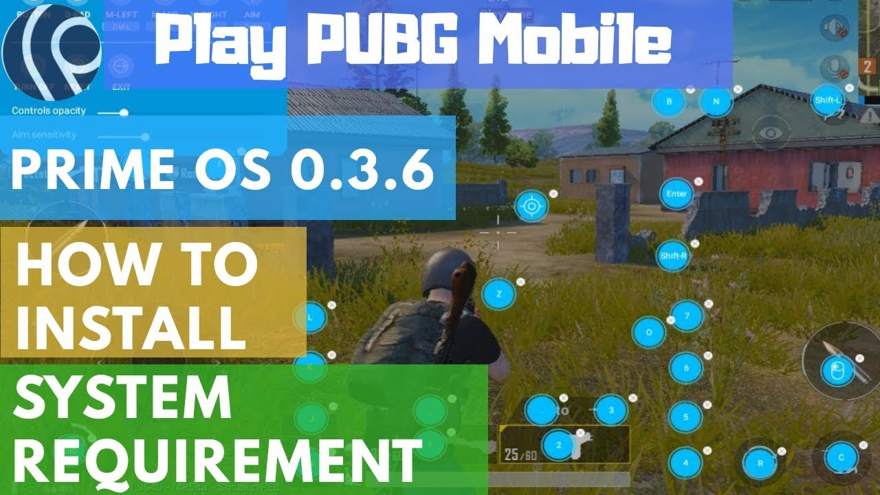 Prime OS Full Installation Guide : Play PUBG Mobile on any PC/Laptop🔥