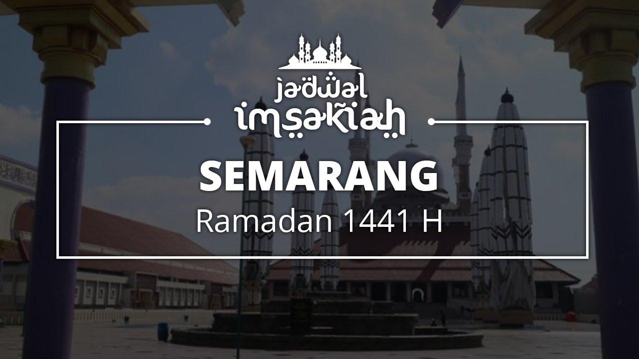Jadwal Imsakiyah dan Puasa Ramadan 1441 H - 2020 Kota ...