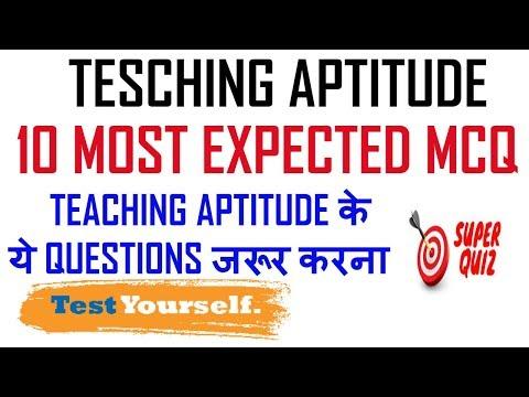 Ugc Net - 10 Most Expected MCQs || Teaching Aptitude || Test