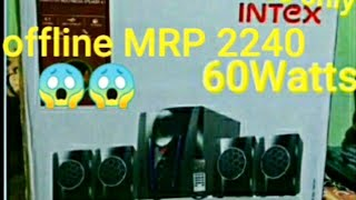 Unboxing Intex it-2650 Digi plus best home theater at rs 2450 only
