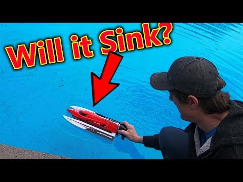 My First RC Boat **Brushless!**