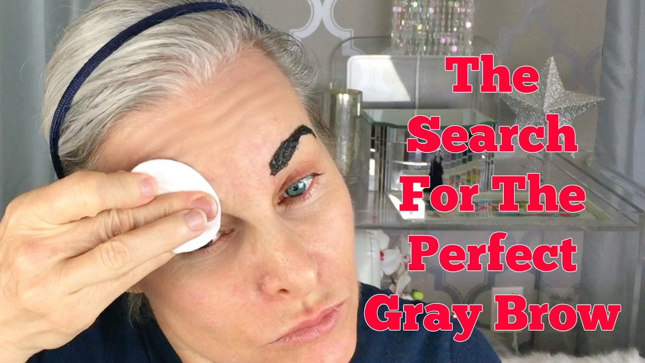 The Quest For The Perfect Gray Brow Tint Youtube