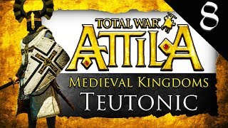 TEUTONIC KNIGHTS INVADE BRITAIN Medieval Kingdoms Total War Attila Teutonic Order Gameplay 8
