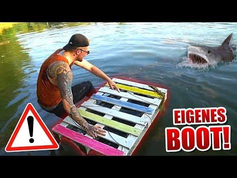 EXPERIMENT: Wir bauen ein FLOß ! Gadget Fun !