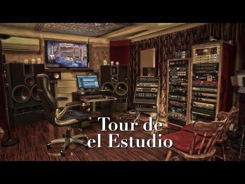 Tour de el Estudio - Lecciones de Grabación con Diego López