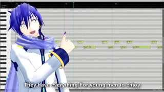 【KAITOV3 EN】Y.M.C.A. (Village People)【VOCALOIDカバー曲】+VSQx