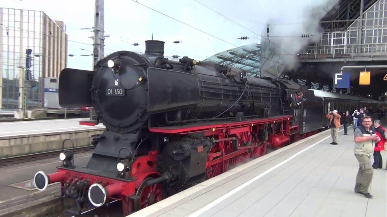 Dampflok 01 150