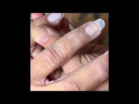Cách Đắp Bộ Móng Bột (Cận Cảnh) - How To Do An Acrylic Fullset Nails(Closed-Up)
