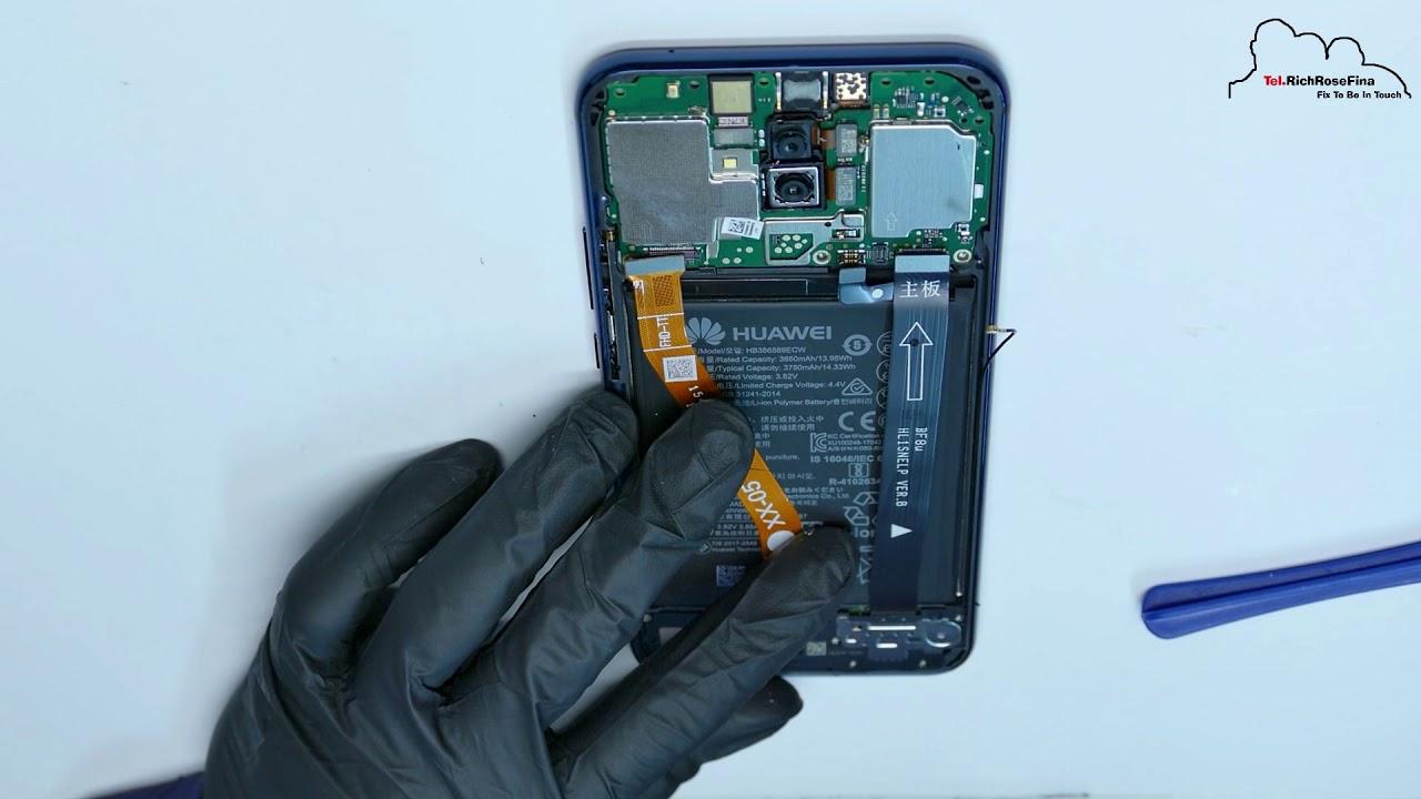Huawei Mate 20 Lite Disassembly Screen Display replacement Wechseln  Austausch