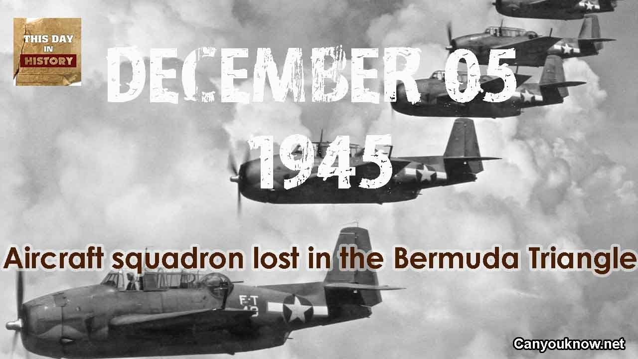 Aircraft The Bermuda Squadron 051945 This Day Lost History Triangle December In 1cFlJTK