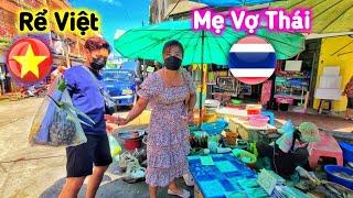 Mẹ Vợ Đi Chợ Quyết Tâm Học Nấu Đồ Ăn Việt Để Lấy Chồng Việt Nam | Dâu Việt & Rể Thái #29