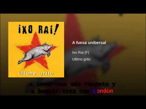 Ixo Rai -   A fuesa universal. kARAoke