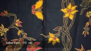 Batik Banyumas Kombinasi Tulis Motif Cendrawasih