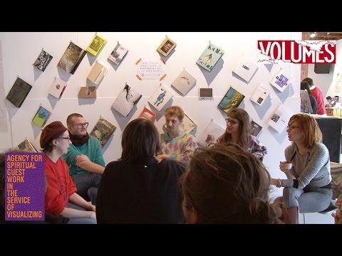 Conversation at Volumes, The Independent Art Publishing Fair in  Zurich 2015