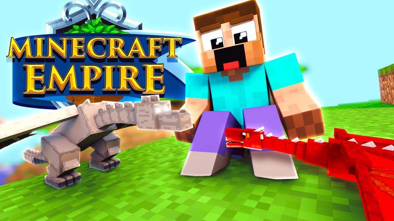 DRACHI SEIN BRUDER SPIELEN Minecraft EMPIRE Mit - Minecraft empire spielen