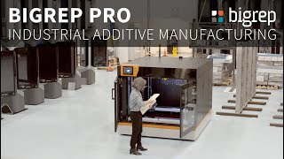 BigRep PRO - An Industrial Machine for Professional Production