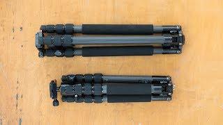 Sirui Т-025X і T-024X коментар - легкий БФ штативи