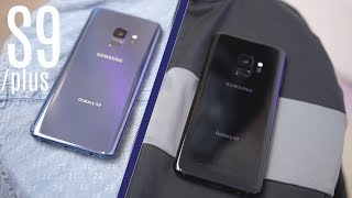 Galaxy S9 Black vs Blue: Color Comparison!