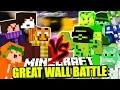 VERTEIDIGT DIE MAUER! PIETSMIET vs. FREEDOM SQUAD ✪ Minecraft BATTLE!