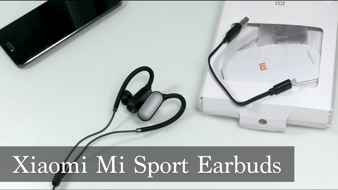 беспроводные наушники Xiaomi Sport Earbuds Youtube