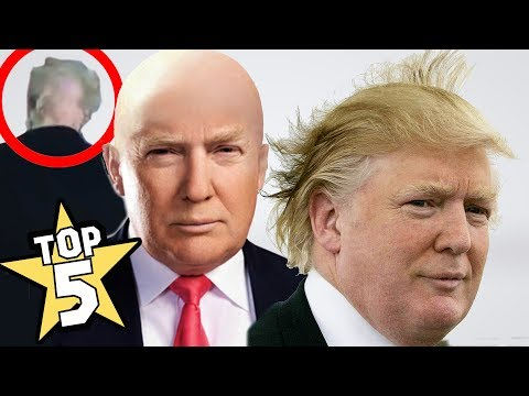 TOP 5 | DONALD TRUMP'S HAIR SHOCKING FACTS