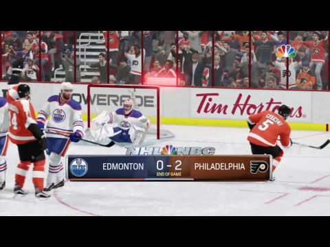 NHL 17 Philadelphia Flyers Franchise Mode Season 1 Game 29