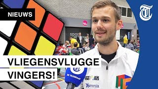 """NK Rubik's Cube in Veenendaal: """"Bijna een onmogelijke uitdaging"""""""