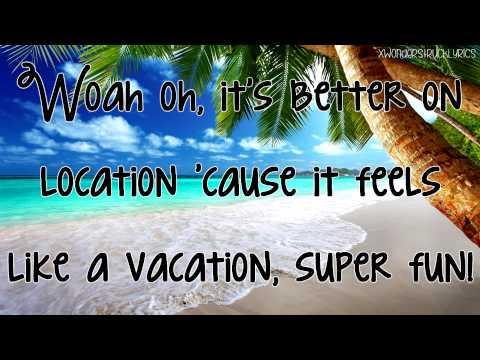 Silver Screen - Teen Beach 2 (Maia Mitchell & Ross Lynch) - Lyrics On Screen