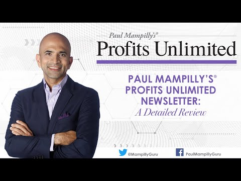 Product Review of Paul Mampilly's Profits Unlimited Newsletter Subscription