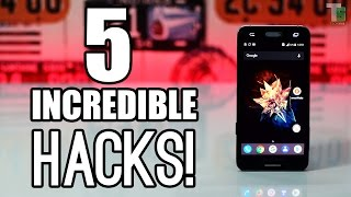 5 Incredible Android HACKS, TIPS and TRICKS!