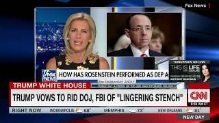 Fox News gives Trump conflicting advice firing Deputy AG Rod Rosenstein