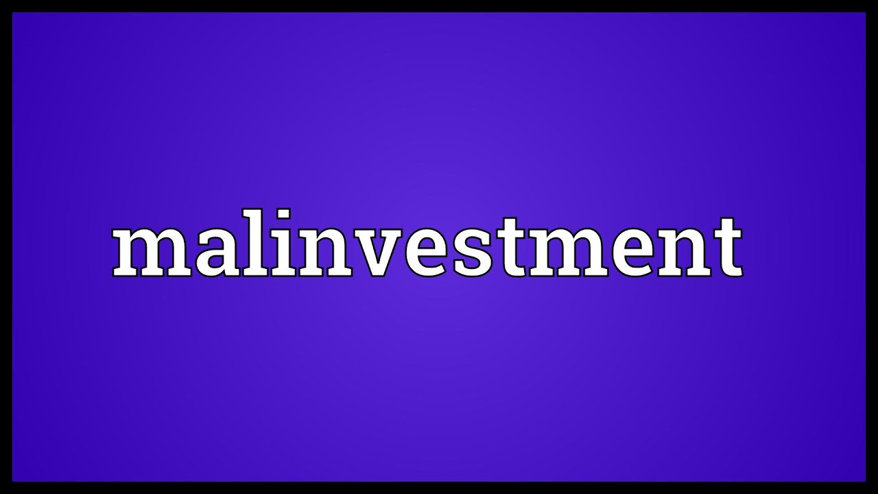 Define malinvestment use cot report forex