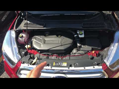 FORD ESCAPE - WINDSHIELD WASHER FLUID LOCATION
