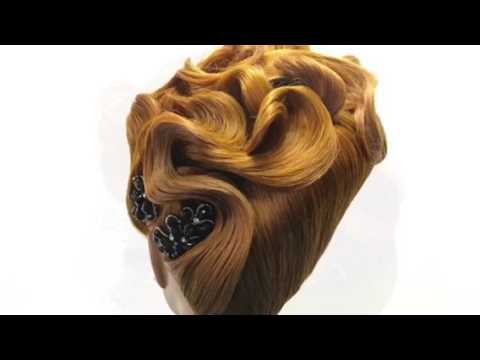 Cliove Hair Education Expo Updo styles by Jose Miguel Salas