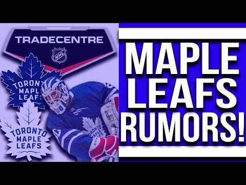 Maple Leafs Trade Rumors! Backup Goalie Trade?
