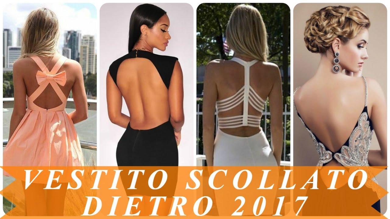 low priced d978c 3eae0 Vestito scollato dietro estivi 2017