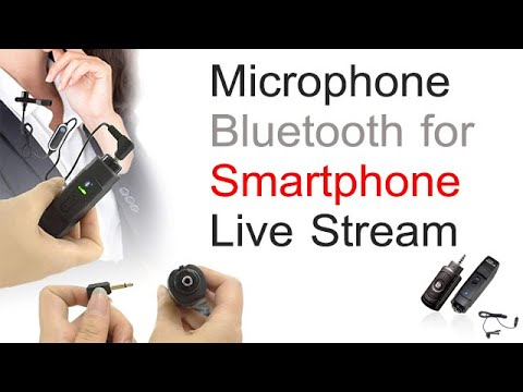 Microphone Bluetooth for Smartphone Live Stream