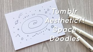 Tumblr Inspired Space Doodles!   Doodle with Me screenshot 4