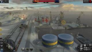 World in Conflict PC Games Gameplay - Dock workers unite