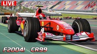 Ferrari f2004 multiplayer! | cr99 - live | assetto corsa [hd] barcelona moto