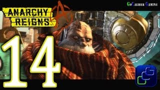 Anarchy Reigns Walkthrough - Part 14 - White Side Stage 4 - Mission 02: The Old Man and the Desert