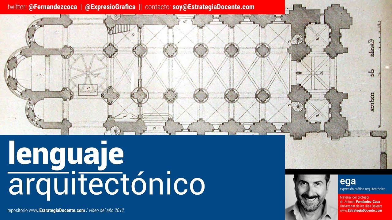 Curso sobre lenguaje arquitect nico y c mo dibujar la for Tecnicas de representacion arquitectonica pdf