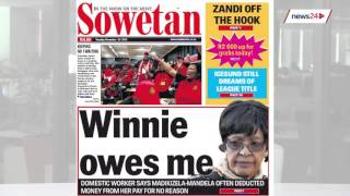 24 November | Newspapers focus on COSATU & Tim Noakes