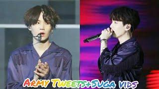 Army Tweets+Suga Vids #34 (Suga Special)