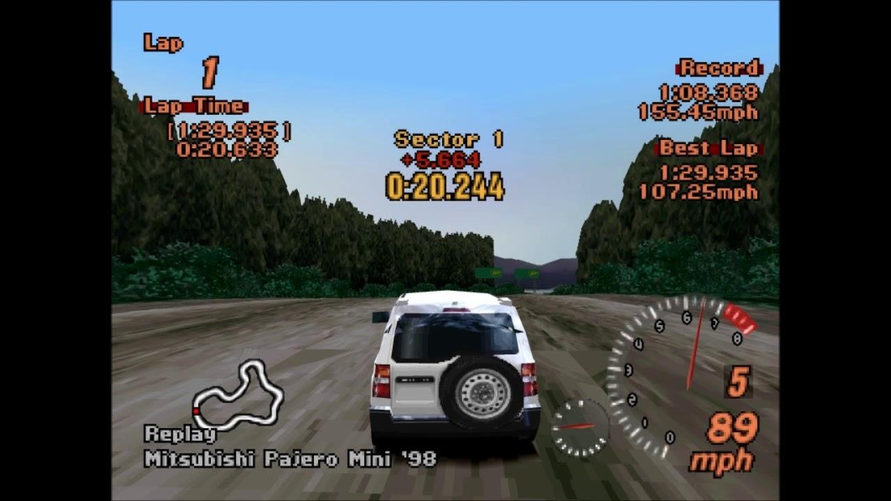 Gran Turismo 2 on PCSXR-PGXP emulator