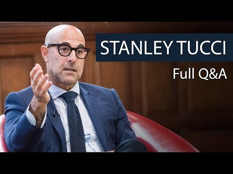 Stanley Tucci | Full Q&A | Oxford Union